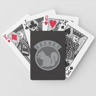 Hemlig ekorre för låg Vis Spelkort