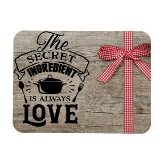 Hemlig ingrediensmagnet för kärlek magnet