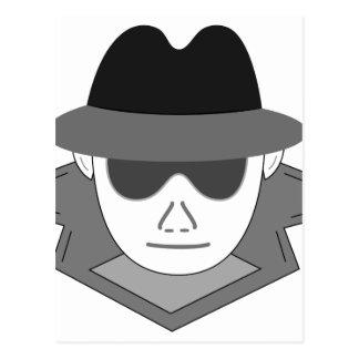 Hemlig spion vykort