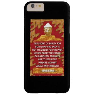 Hemlighet av vård-: Buddha citationstecken Barely There iPhone 6 Plus Fodral