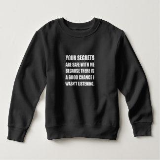 Hemligheter som är säkra med mig, därför att tshirts
