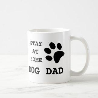 Hemmastadd hundpappa för stag kaffemugg