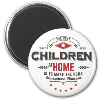 hemmastadda magneter för barn