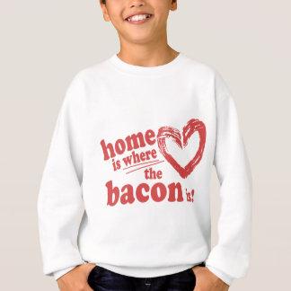 Hemmet är var baconen är t-shirts