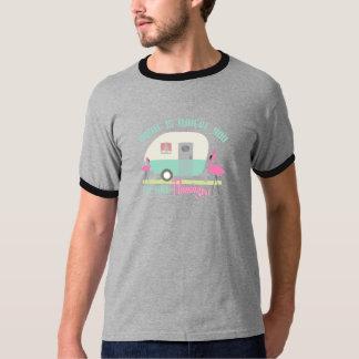 Hemmet är var du sätter ditt Retro släp för T-shirt