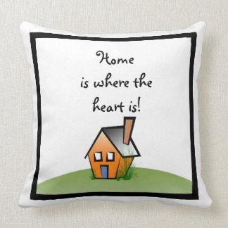 hemmet är var höran är kudder kudde
