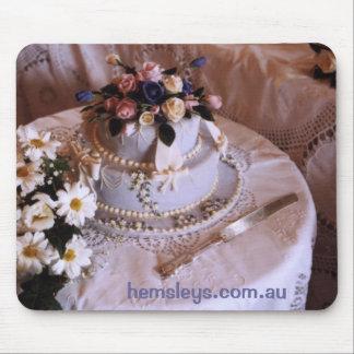 Hemsleys bröllopstårta Mousepad Mus Matta