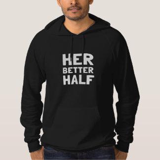Henne bättre halva sweatshirt