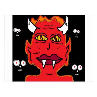 henne djävulen vykort