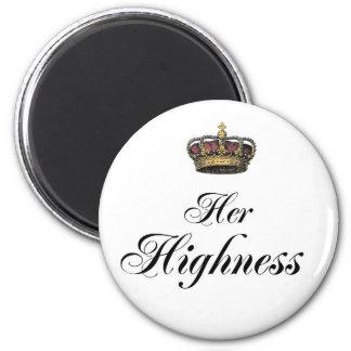 Henne Highness (delen av hans och den hennes uppsä Magnet