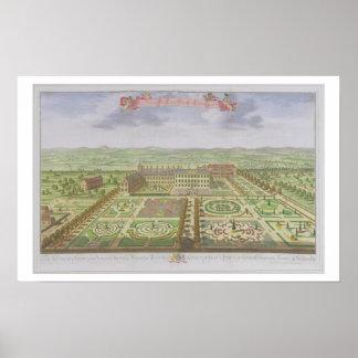 Henne majestät kungliga slott på Kensington, från  Poster