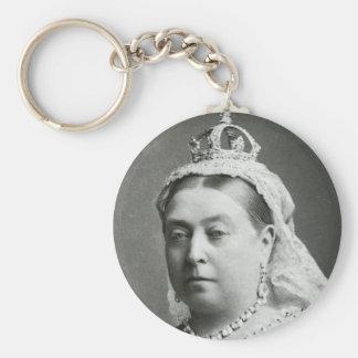Henne majestätdrottning Victoria Rund Nyckelring