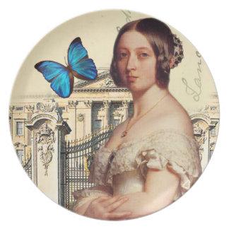 Henne majestätdrottning Victoria Tallrik