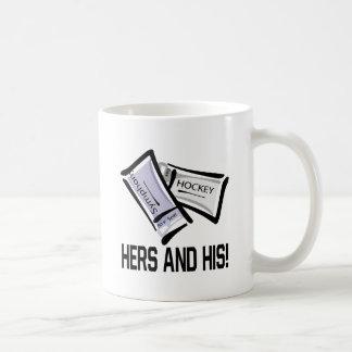 Hennes och hans biljetter kaffemugg