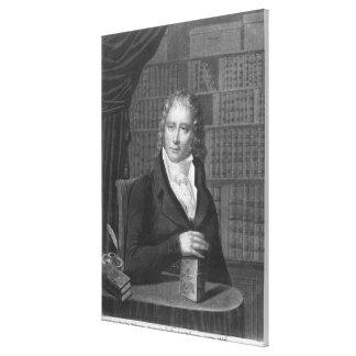 Henri Benjamin Konstant de Rebecque Canvastryck
