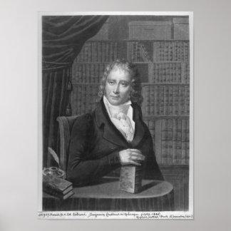 Henri Benjamin Konstant de Rebecque Poster
