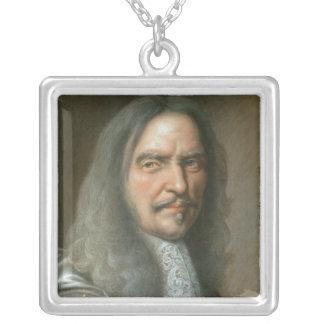 Henri de La Turnera d'Auvergne Vicomte de Turenne Silverpläterat Halsband