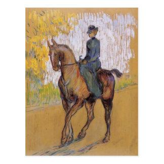 Henri de Toulouse-Lautrec Amazone Vykort