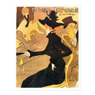Henri de Toulouse-Lautrec - Divan Japonais Vykort