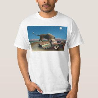 Henri Rousseau - den sova zigenaren T Shirt