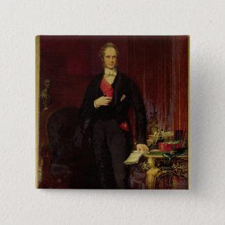 Henry 3rd Viscount Palmerston Standard Kanpp Fyrkantig 5.1 Cm