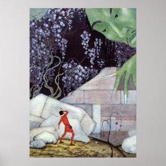 Henry och jätten vid Virginia Frances Sterrett Poster