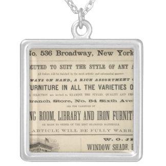 Henry Stoney Silverpläterat Halsband