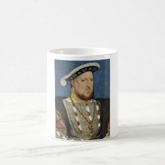 Henry VIII - Hans Holbein det mer ung Vit Mugg