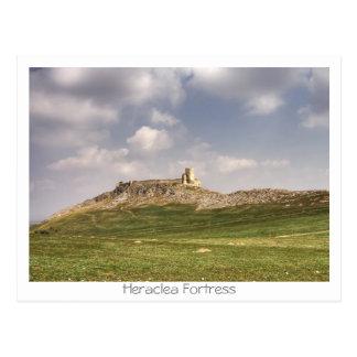 Heraclea fästning vykort