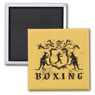 Heraldisk boxningmagnet magnet