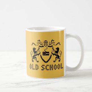 Heraldisk old schoolmugg för PIXEL Kaffemugg