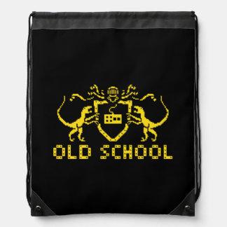 Heraldisk ryggsäck för PIXELDinosaurDrawstring