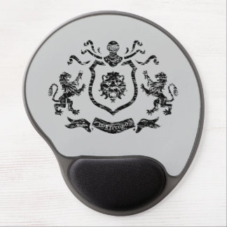 Heraldisk vapensköld - Gel Mousepad Gelé Musmattor