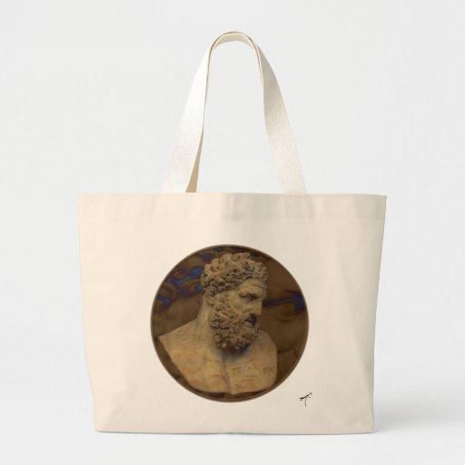 Hercules pank Silhouettetoto Tote Bag