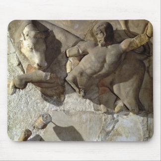 Hercules som slåss Cretantjuren, en av en serie Musmatta