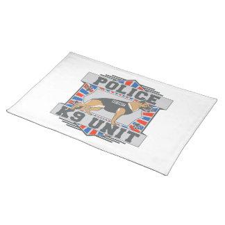 Herde för polis för enhet K9 tysk Bordstablett