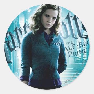 Hermione Granger Runda Klistermärken