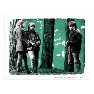 Hermione, Ron och Harry 1 Vykort