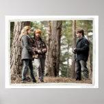 Hermione, Ron och Harry 2 Print