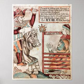 Hermod grensle Sleipnir Poster