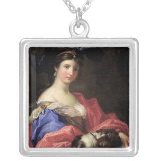 Herodias Silverpläterat Halsband