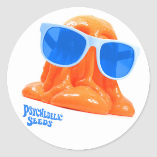 Herr Blobbington den orange klistermärken