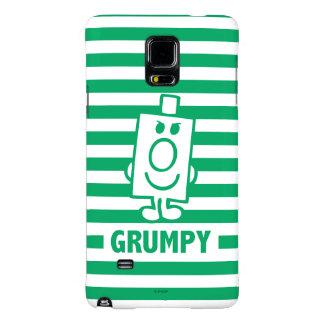 Herr busig Grumpy | grinar och görar grön randar