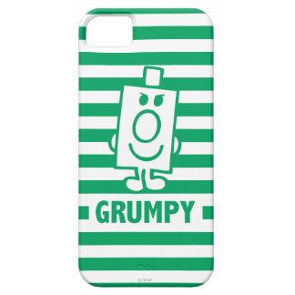 Herr busig Grumpy | grinar och görar grön randar iPhone 5 Case-Mate Fodraler