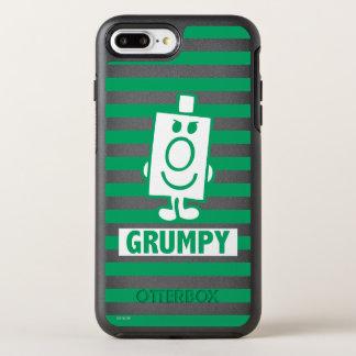 Herr busig Grumpy | grinar och görar grön randar OtterBox Symmetry iPhone 7 Plus Skal