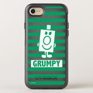 Herr busig Grumpy | grinar och görar grön randar OtterBox Symmetry iPhone 7 Skal