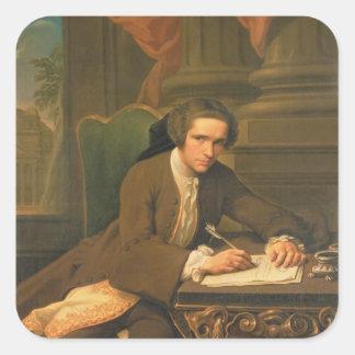 Herr Charles Frederick, 1735 Fyrkantigt Klistermärke