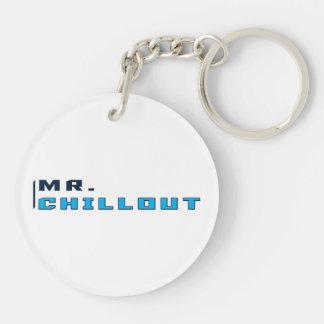 Herr Chillout logotypnyckelring