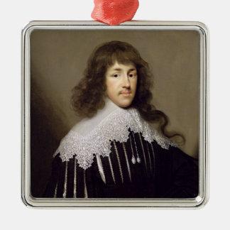 Herr Francis Godolphin, 1633 (olja på kanfas) Julgransprydnad Metall