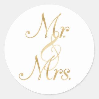 Herr & Fru Klistermärke
